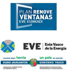 Plan Renove Ventanas - EVE, Ente Vasco de Energía