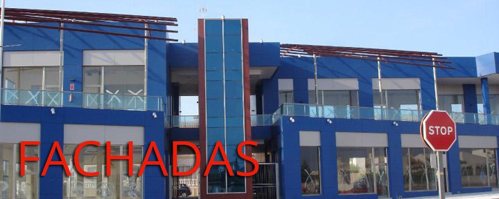 Reformas de fachadas de aluminio en Bilbao, Bizkaia